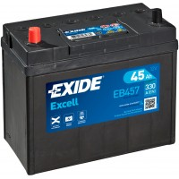 Автомобильный аккумулятор EXIDE Excell 6СТ-45Ah Аз ASIA 330A (EN) EB457