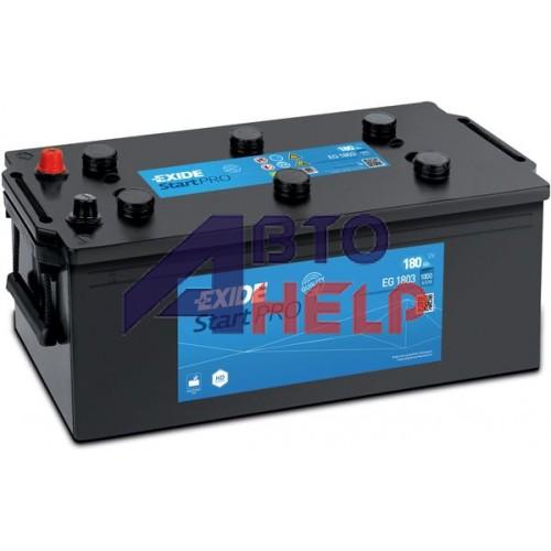Автомобильный аккумулятор EXIDE Start PRO 6СТ-180Ah Аз 1000A (EN) EG1803