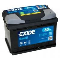 Автомобильный аккумулятор EXIDE Excell 6СТ-60Ah АзЕ 540A (EN) EB602
