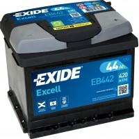 Автомобильный аккумулятор EXIDE Excell 6СТ-44Ah АзЕ 420A (EN) EB442
