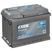 Автомобильный аккумулятор EXIDE Premium Carbon Boost 6СТ-61Ah АзЕ 600A (EN) EA612