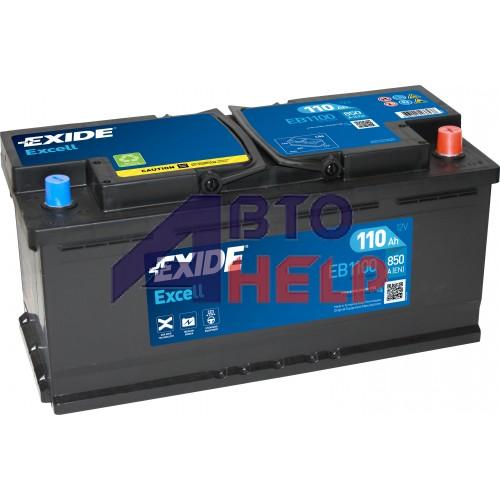 Автомобильный аккумулятор EXIDE Excell 6СТ-110Ah АзЕ 850A (EN) EB1100