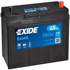 Автомобильный аккумулятор EXIDE Excell 6СТ-45Ah АзЕ ASIA 330A (EN) EB456
