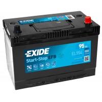 Автомобильный аккумулятор EXIDE Start-Stop EFB 6СТ-95Ah АзЕ ASIA 800A (EN) EL954