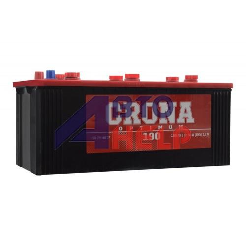 Автомобильный аккумулятор CRONA 6СТ-190Ah Аз 1200A (EN) 690 73 02