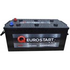 Автомобильный аккумулятор EUROSTART Truck 6СТ-225Ah Аз 1400A (EN) 725014140