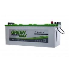 Автомобильный аккумулятор GREEN POWER MAX 6СТ-205Ah Аз 1400A (EN)