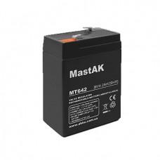 Аккумулятор AGM 6V, 4,2Ah, MastAK MT642