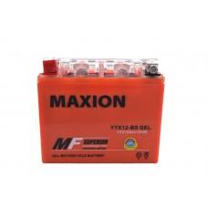 Аккумулятор мото MAXION YTX 12Ah GEL YTX12-BS