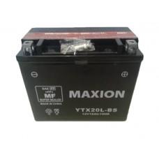 Аккумулятор мото MAXION 18Ah YTX20L-BS
