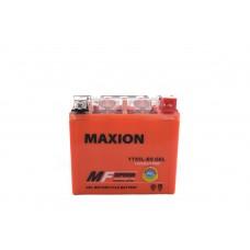 Аккумулятор мото MAXION YTX 5Ah GEL YTX5L-BS
