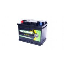 Автомобильный аккумулятор MERCURY CLASSIC Plus 6СТ-60Ah Аз 520A (EN)