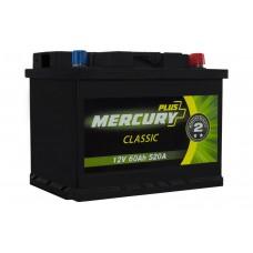 Автомобильный аккумулятор MERCURY CLASSIC Plus 6СТ-60Ah АзЕ 520A (EN)