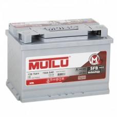 Автомобильный аккумулятор Mutlu SFB 6СТ-75Ah АзЕ 720A (EN) LB3.75.072.A