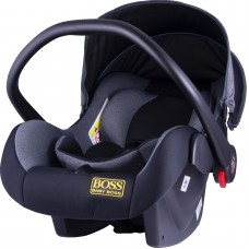 Автокресло BABY BOSS серое 0-15 месяцев (0-13кг) HB816