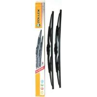 Щётки стеклоочистителя Zollex каркасные 330мм (6 адаптеров) комплект 2шт S-330