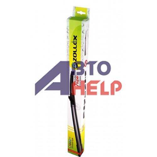Щётка стеклоочистителя Zollex универсальная бескаркасная 400мм (7 адаптеров) U7-400