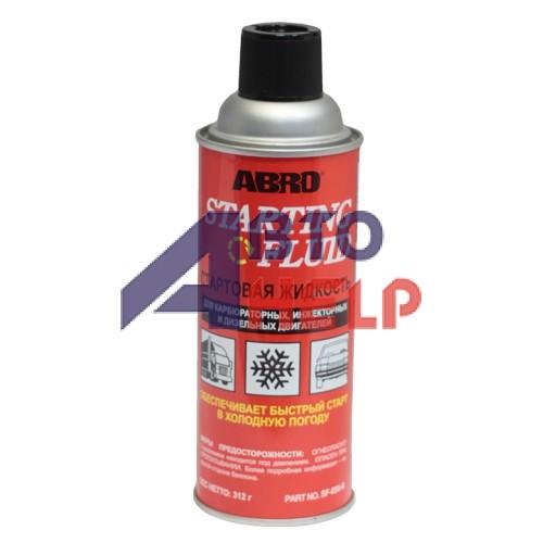 Быстрый запуск двигателя ABRO Starting Fluid SF-650 312мл