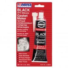 Герметик прокладок ABRO Black Gasket Maker чёрный +260°C 12-AB 85г