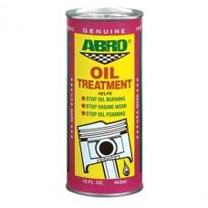 Присадка ABRO Oil Treatment в масло AB-500 443мл