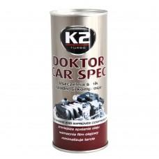 Присадка K2 Doktor CarSpec стабилизатор вязкости масла 443мл