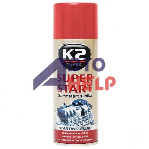 Быстрый запуск двигателя K2 Super Start 400мл