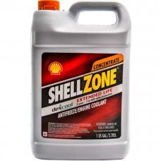 Антифриз SHELL SHELLZONE Extended Life Antifreeze/Engine Coolant G12 концентрат -80°C красный 4л 9404006021