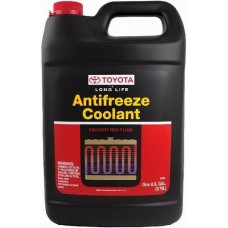 Антифриз TOYOTA Super Long Life Antifreeze/Coolant G12 -37°C красный 4л 00272SLLC2