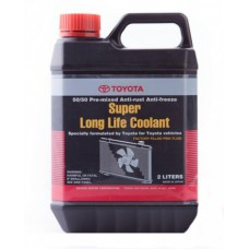 Антифриз TOYOTA Super Long Life Coolant G12 -37°C красный 2л 0888980070