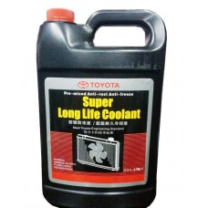 Антифриз TOYOTA Super Long Life Coolant G12 -37°C красный 4л 0888980082
