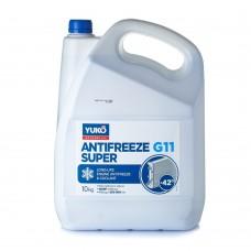 Антифриз YUKO Super G11 -42°C синий 10л