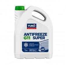Антифриз YUKO Super G11 -42°C зелёный 5л