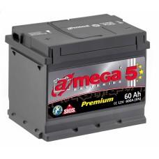 Аккумулятор A MEGA 6СТ-60 Аз Premium (600EN)