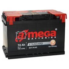 Аккумулятор A MEGA 6СТ-74 Аз Standart (720EN)