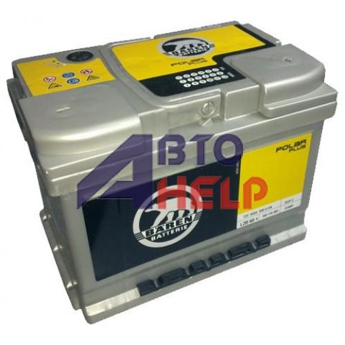 Аккумулятор BAREN 6СТ-60 АзЕ POLAR (540EN)