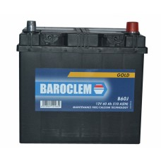 Аккумулятор Baroclem 6СТ-60 АзЕ Gold Asia (560 412 051BA), (510EN)