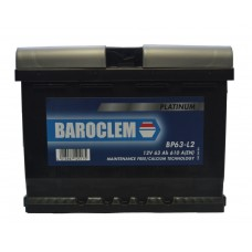 Аккумулятор Baroclem 6СТ-63 АзЕ Platinum (563 400 061BA), (610EN)
