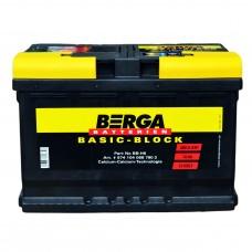 Аккумулятор BERGA  6СТ-74Ah АзЕ Basic Block (680EN)