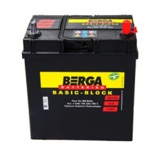 Аккумулятор BERGA 6СТ-35А АзЕ ASIA Basic Block (300EN) (535118030)