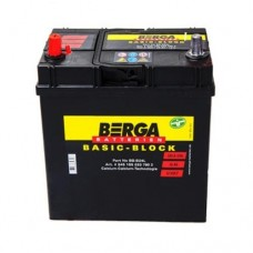 Аккумулятор BERGA 6СТ-45А Аз ASIA Basic Block (330EN) (545157033)