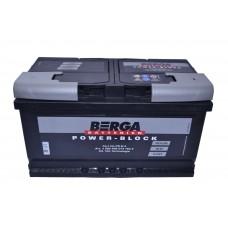 Автомобильный аккумулятор BERGA Power Block 6СТ-80Ah АзЕ 740A (EN) 580406074