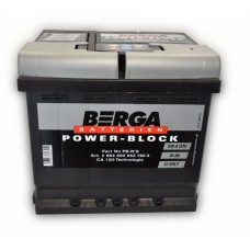 Автомобильный аккумулятор BERGA Power Block 6СТ-54Ah АзЕ 530A (EN) 554400053