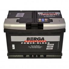 Автомобильный аккумулятор BERGA Power Block 6СТ-77Ah АзЕ 780A (EN) 577400078