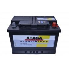Автомобильный аккумулятор BERGA Start Block 6СТ-70Ah АзЕ 640A (EN) 570409064