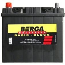 Автомобильный аккумулятор BERGA Basic Block 6СТ-60Ah Аз ASIA 510A (EN) 560413051