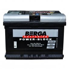 Аккумулятор BERGA 6СТ-60 АзЕ Power Block (540EN)