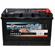 Аккумулятор BlackMax 6СТ-100Ah АзЕ B4028 ASIA (850EN)