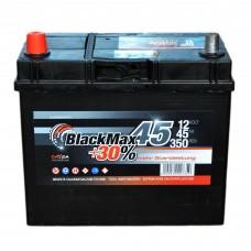 Аккумулятор BlackMax 6СТ-45Ah Аз B4023 ASIA (350EN)