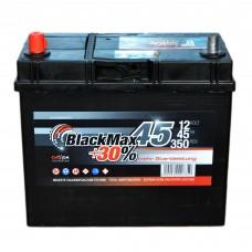 Аккумулятор BlackMax 6СТ-45Ah Аз B4022 ASIA ТК (350EN)