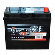 Аккумулятор BlackMax 6СТ-45Ah АзЕ B4021 ASIA (350EN)